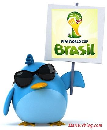 Twitter si campionatul mondial
